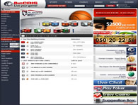 BetCris Sportsbook Website