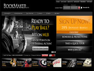 Bookmaker Sportsbook Website