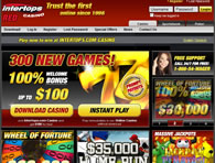 Intertops Casino Website