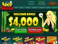 Loco Panda Casino website