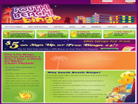 South Beach Bingo Website