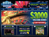 Vegas Casino Online Website